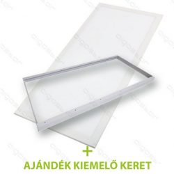 Aigostar LED Panel 600x1200 60W 4000K +ajándék kiemelő keret