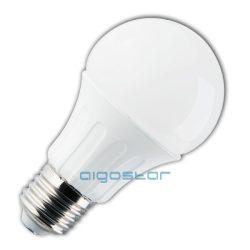 LED izzó, 8W, E27 foglalattal, hideg fehér, 280° szórásszögű