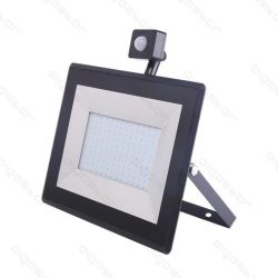 Aigostar LED SLIM Reflektor Mozgásérzékelővel 100W 6000K IP65