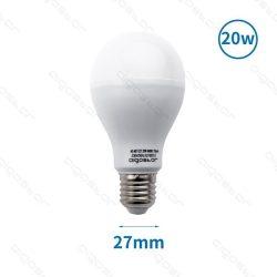 Aigostar LED izzó A67 E27 20W Hideg fehér 195° szórásszögű 3év jótállás