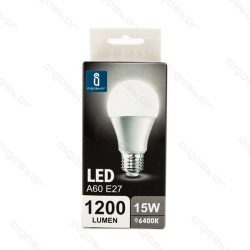 Aigostar LED izzó A60 E27 15W Hideg fehér 280° szórásszögű dobozos