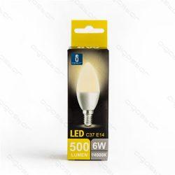 Aigostar LED Gyertya izzó E14 6W Természetes fehér 260° dobozos