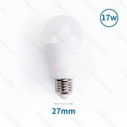 Aigostar LED izzó A60 E27 17W Meleg fehér 280° szórásszögű 3év jótállás