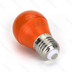 Aigostar Led izzó G45 E27 4W Narancssárga búrával